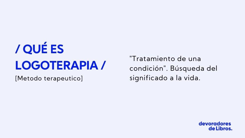 significado logoterapia