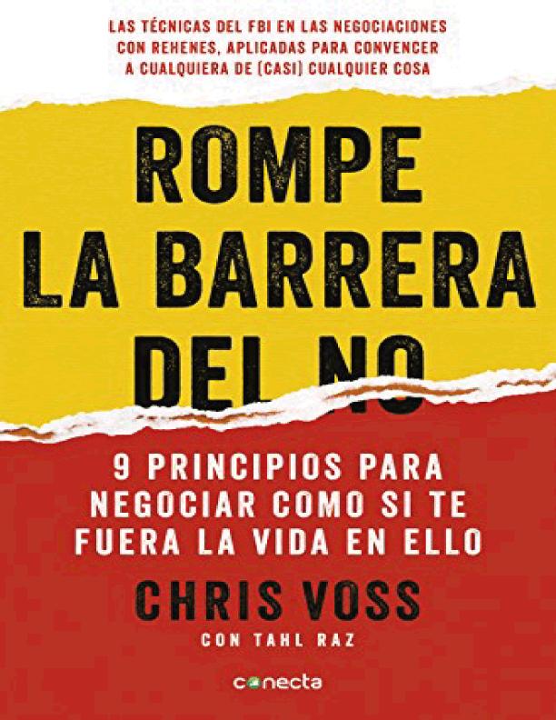 portada rompe la barrera del no Chris Voss